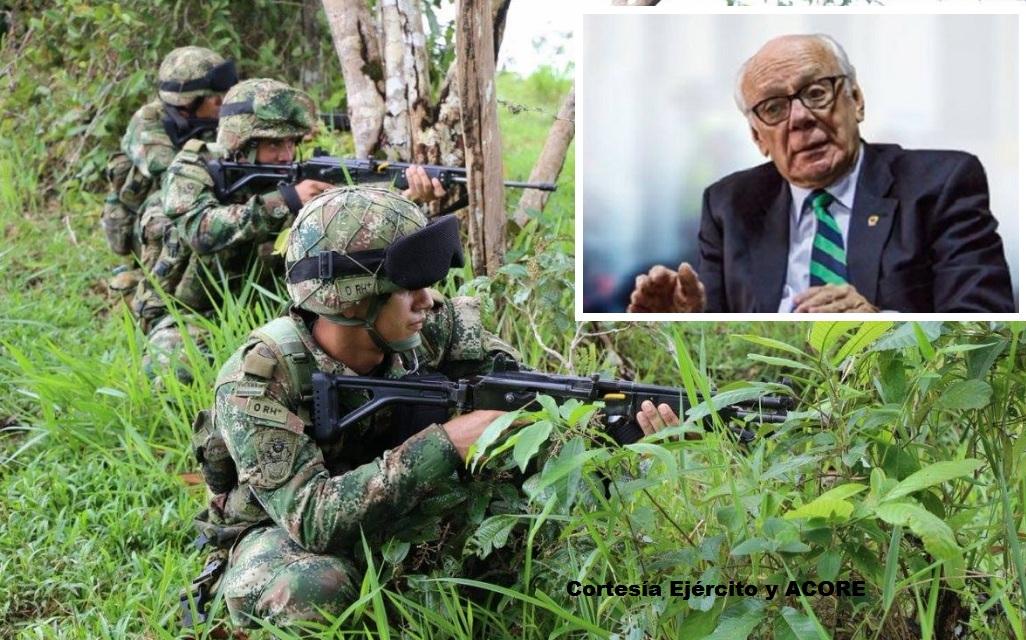 Para el general (r) Jaime Ruiz Barrera la Fuerza Pública está en la obligación de combatir a la delincuencia, bajo el amparo de la Constitución.