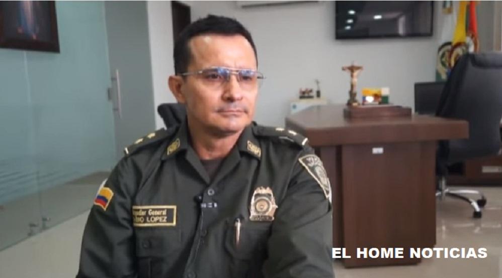 El general Fabio Hernán López Cruz recibiió la dirección de la Dijín, confirmó la emisora La W en su cuenta de Twitter.