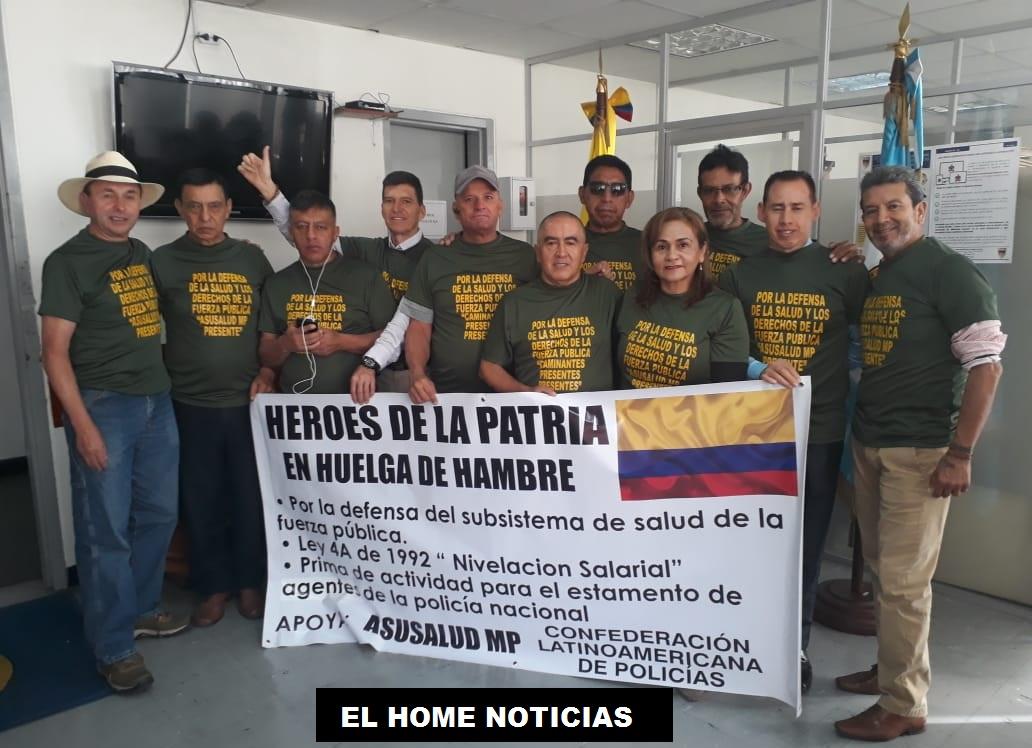 Los llamados héroes de la Patria se han unido en una protesta nacional por el pésimo Sistema de Salud que les están brindando. Están en huelga de hambre y convocando a una marcha nacional.