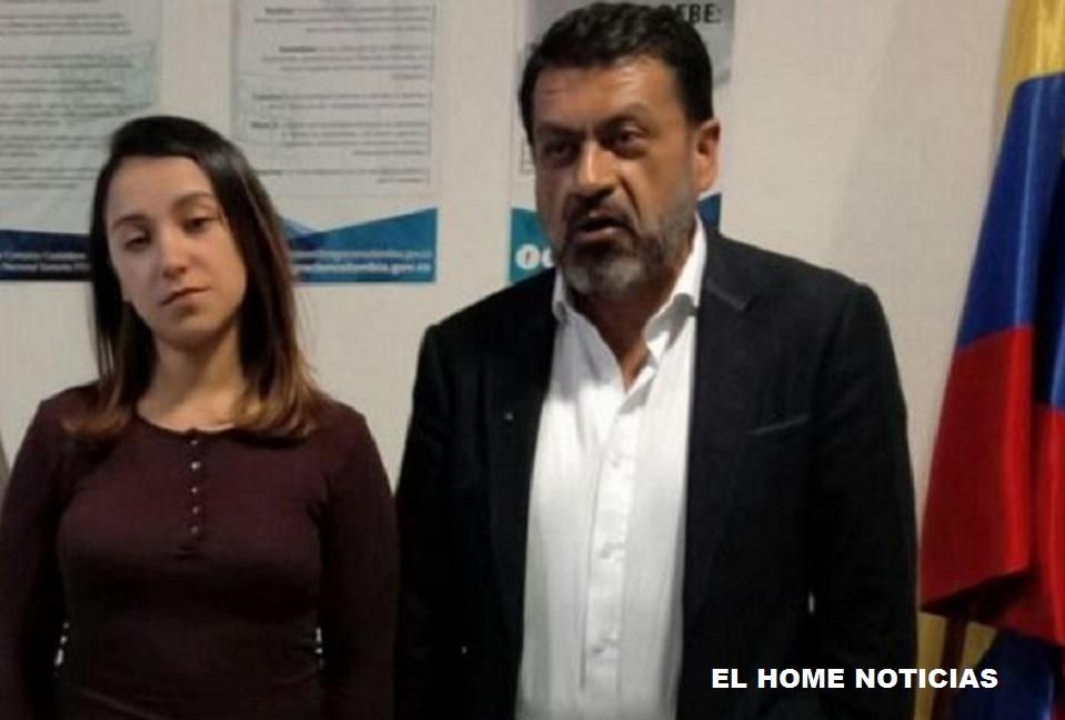 Paola Andrea Parra Marín y Mauricio Parra Rodríguez, quienes fueron beneficiados con la libertad condicional, según la JEP.