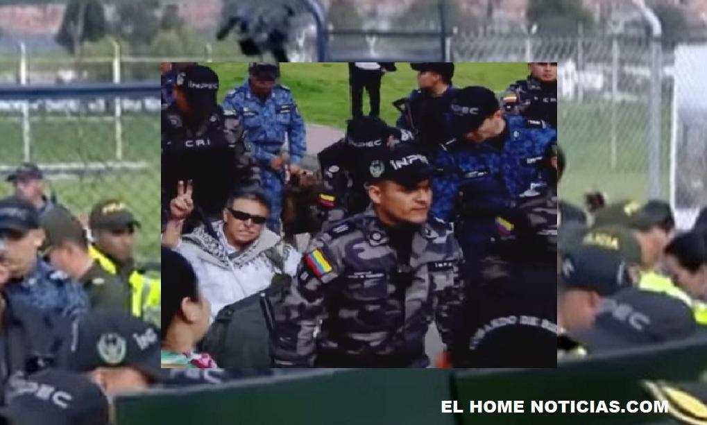 Jesús Santrich fue recapturado por la Fiscalía preciso cuando abandonaba la Cárcel La Picota, atendiendo la orden dada por la JEP.