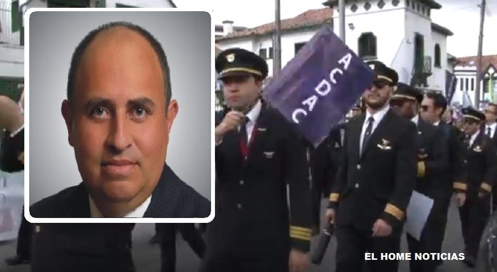 Fabio Augusto Martínez Lugo, es acusado de haber interceptado de manera fraudulenta las comunicaciones de los pilotos de Avianca.