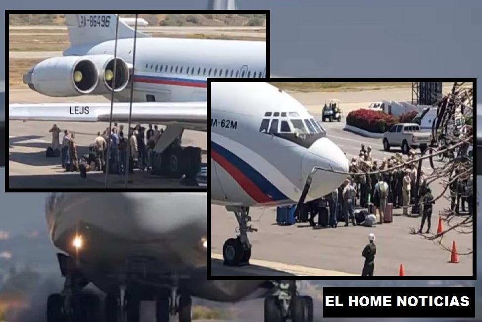 La salida del territorio venezolano lo confirmó la misma compañía Rostec. El régimen de Maduro no tiene con qué pagar tanto personal.