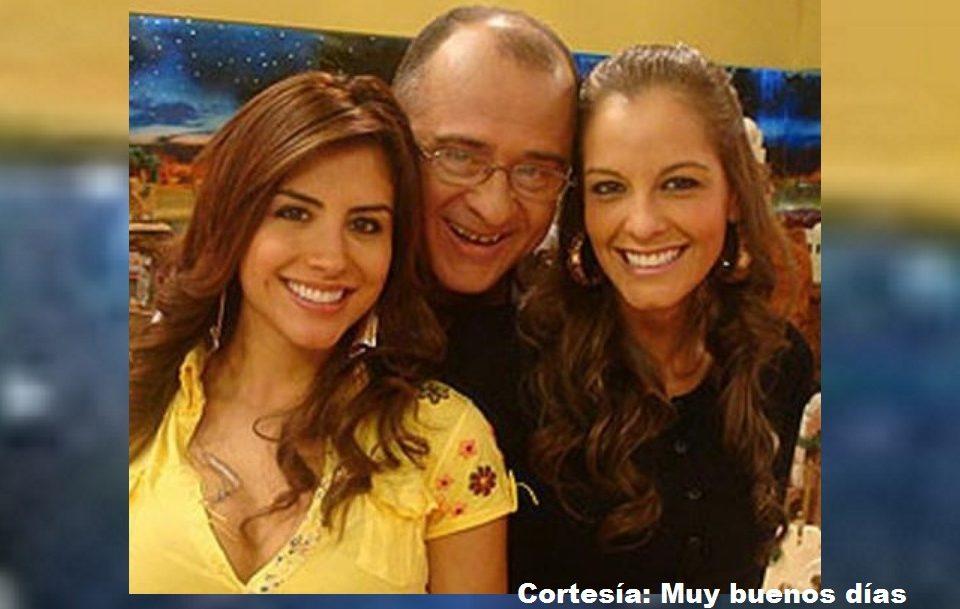 Jessica Cediel, Jota Mario Valencia y Laura Acuña, cuando compartían la presentación del programa 'Muy buenos días' de RCN Televisión.