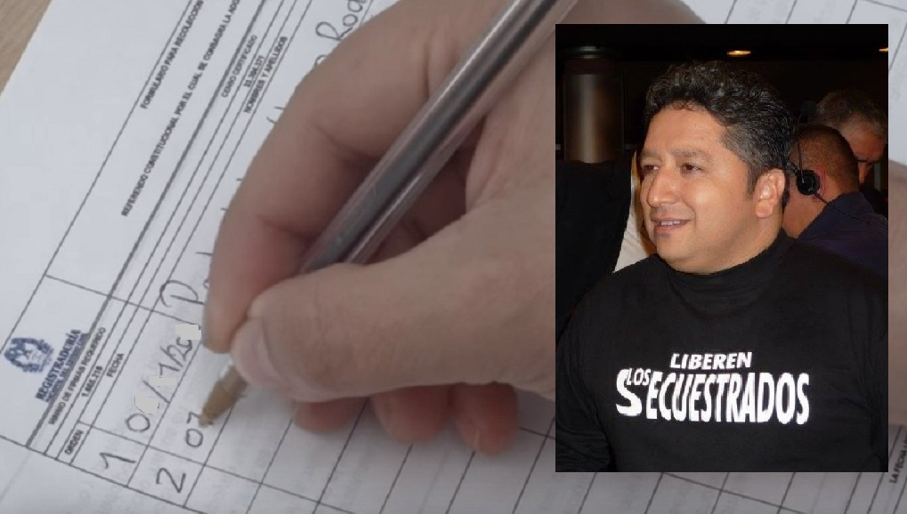 Recolección de firmas contra la JEP.