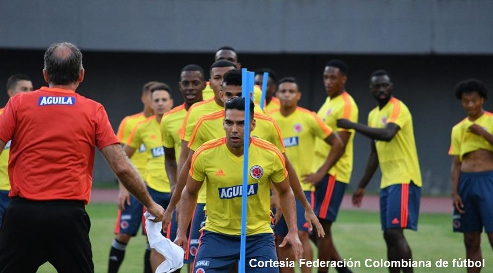 La Selección Colombia está lista para su debut este sábado ante su similar de Argentina.