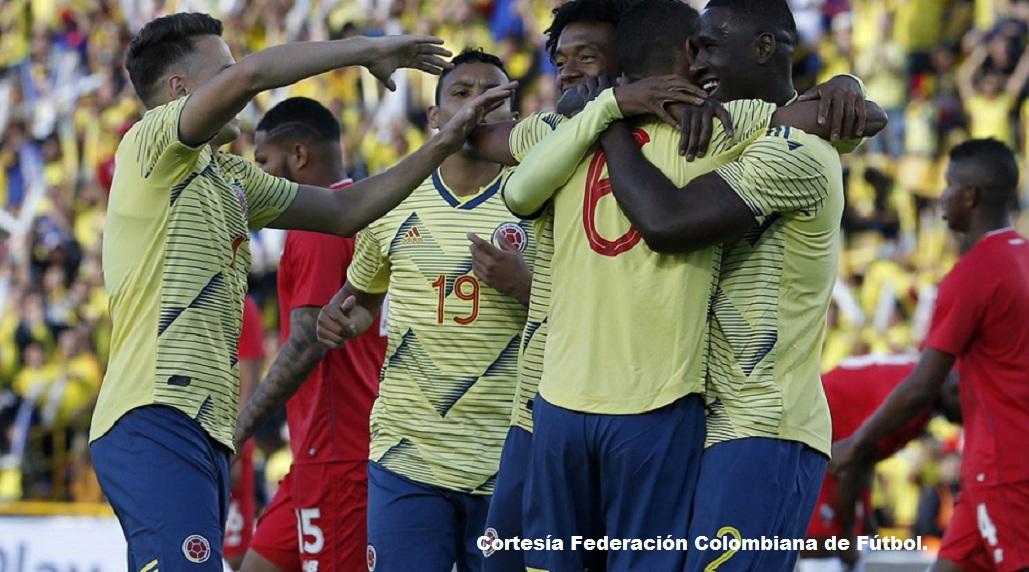 El seleccionado de Colombia mostró su buen fútbol en partido amistoso frente a la Selección de Panama, partido que Colombia ganó 3-0.