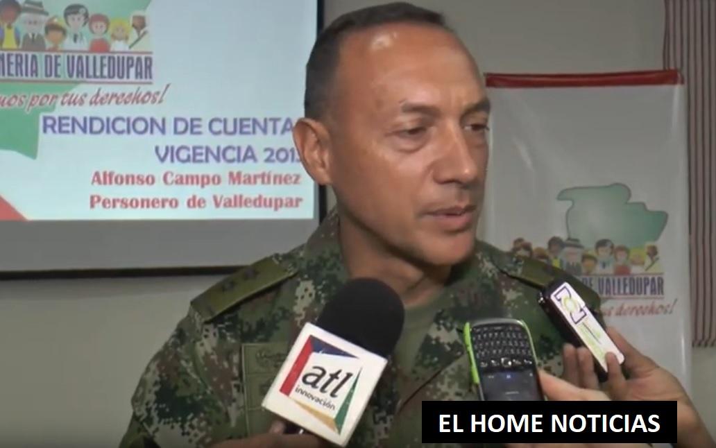 El mayor General Adelmo Fajardo, según el ministro de Defensa, Guillermo Botero, será llamado a calificar servicio, ante recientes escándalos por supuestas irregularidades en la Institución.