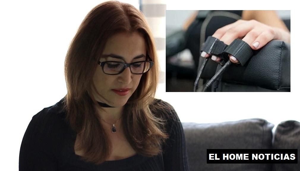 Gloria Lucía Otálora Gómez asegura haber sido víctima del polígrafo.