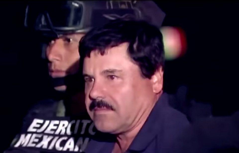 Joaquín el Chapo Guzmán llevado a prisión.