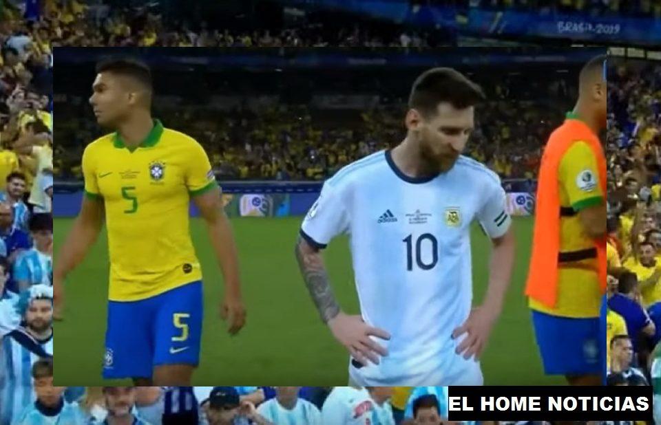Argentina perdió ante Brasil 2-0, una derrota que lo coloca en la disputa del tercer puesto de la Copa América 2019.