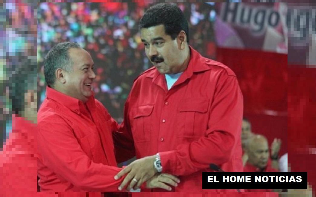 Nicolas Maduro y Diosdado Cabello.