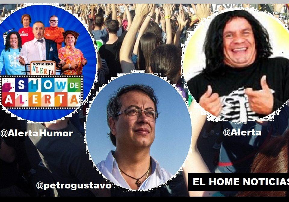 El cuenta Huesos y Gustavo Petro.
