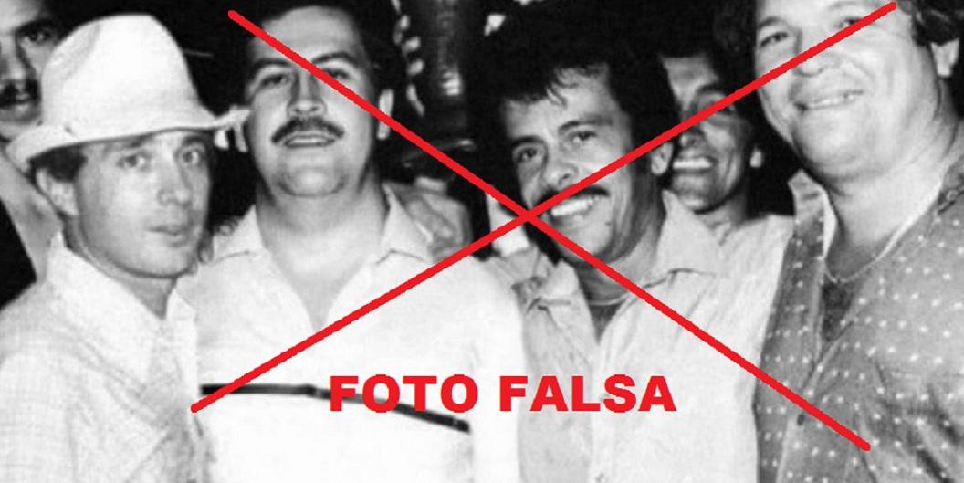 Álvaro Uribe y Pablo Escobar Gaviria.
