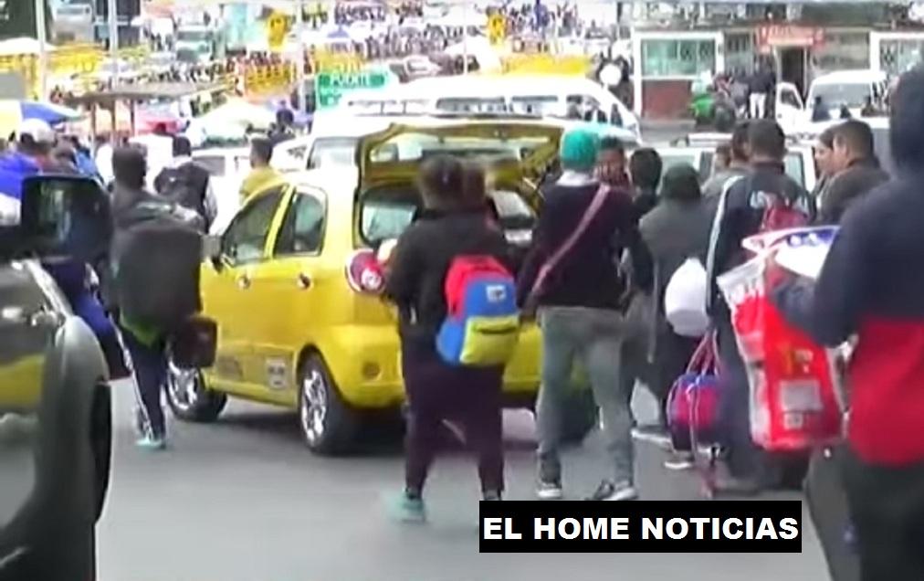 Frontera Colombia - Ecuador.