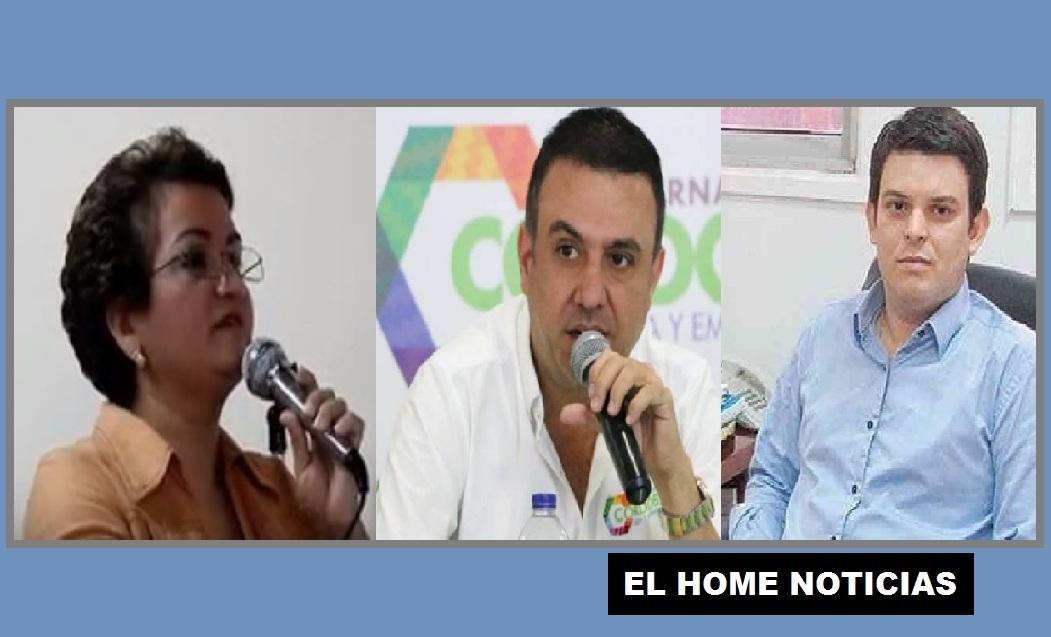 Exgobernadores de Córdoba corruptos.