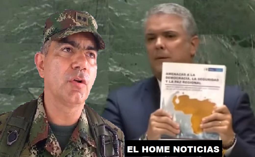 Resultado de imagen para general colombiano Oswaldo Peña Bermeo