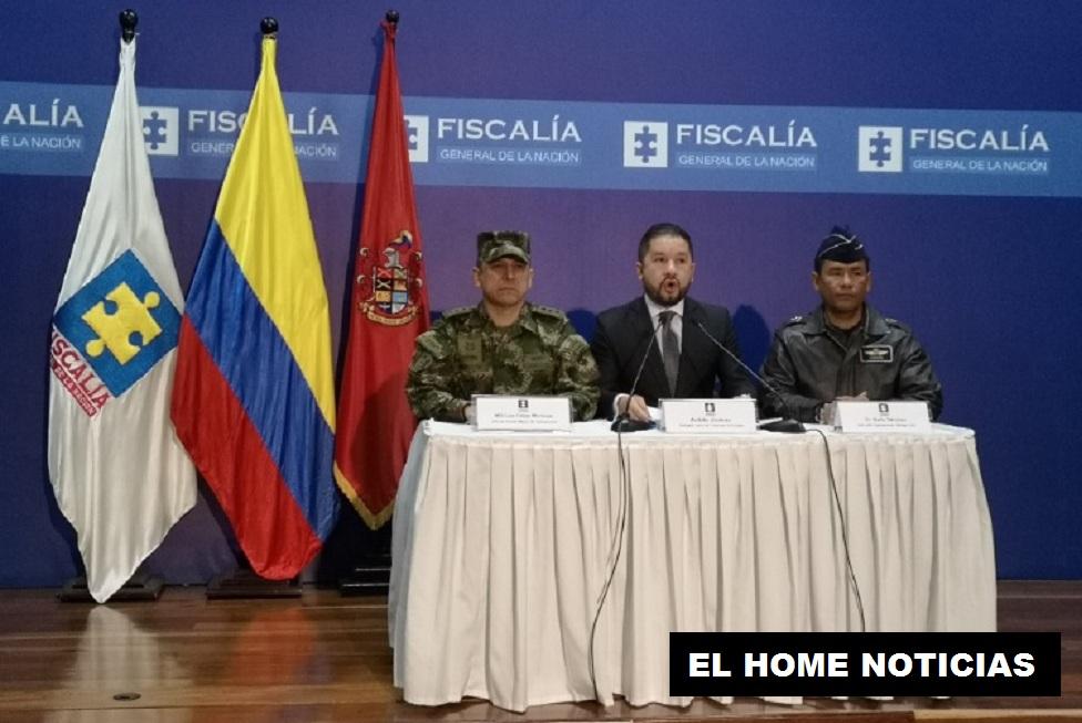 Andrés Jiménez, delegado para las Finanzas Criminales, de la Fiscalía, dio a conocer el resultado de la operación que dejó tras las rejas a 16 personas por lavado de activos.