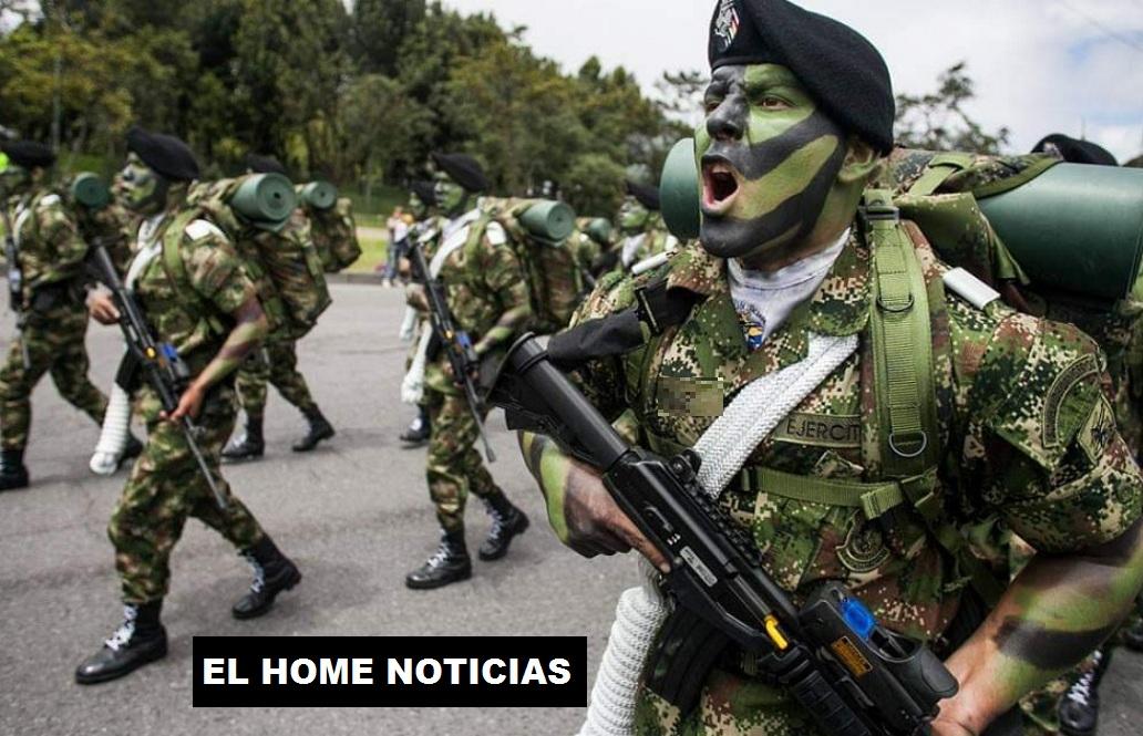 Ejército de Colombia.