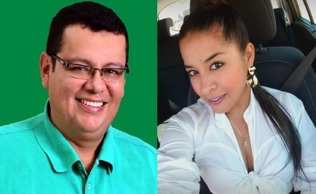 Víctor Orlando Gutiérrez y Jennifer Collazos.