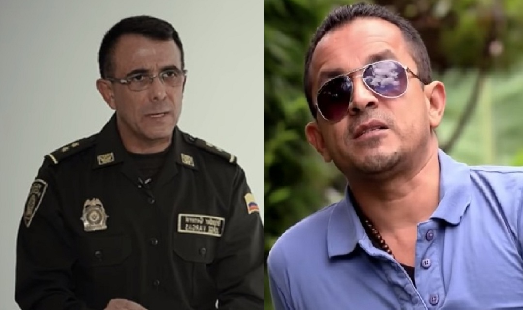 Jorge Luis Vargas Valencia y alias Chorizo.