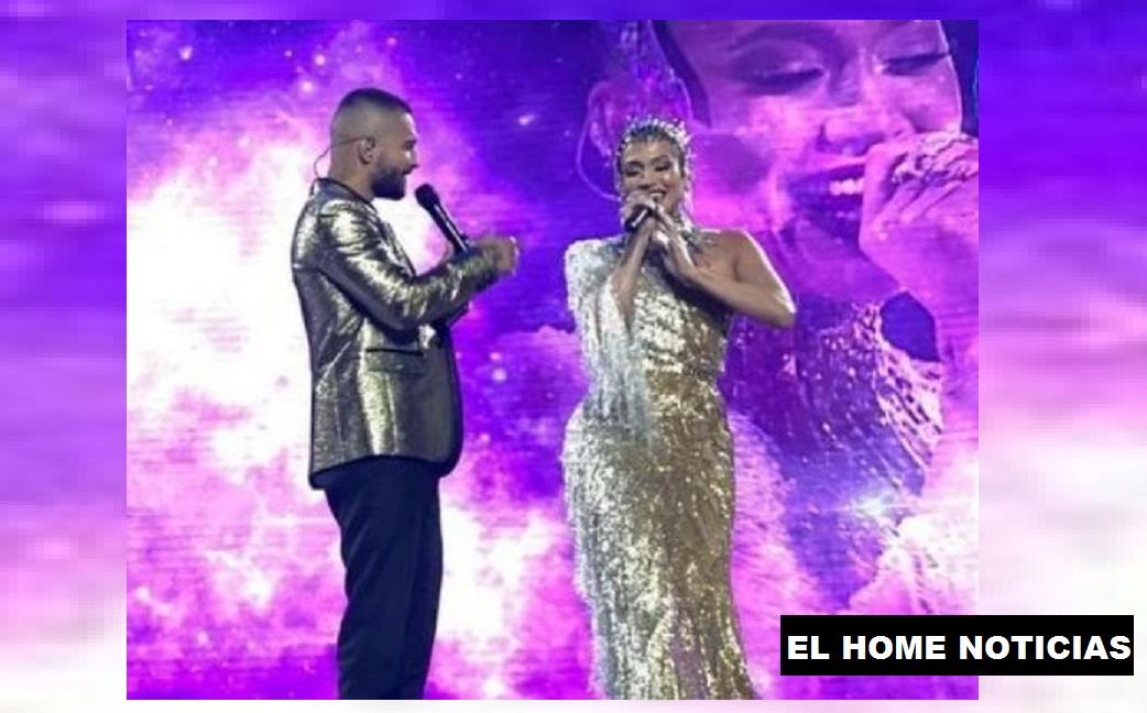 Maluma y Jennifer López.
