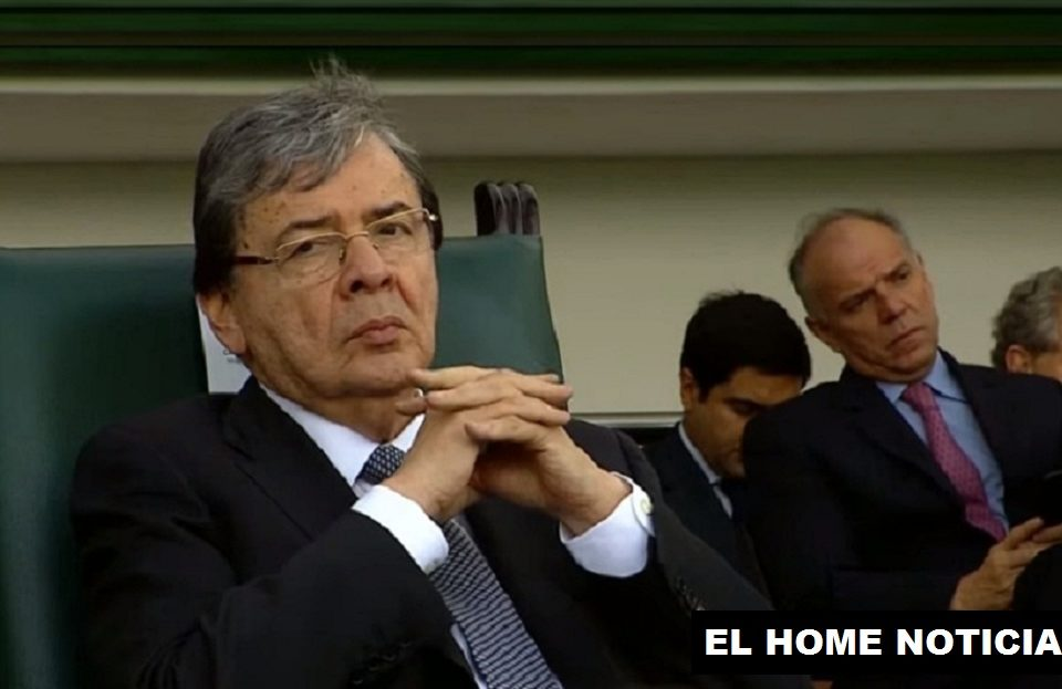 Carlos Holmes Trujillo, ministro de Defensa Nacional.