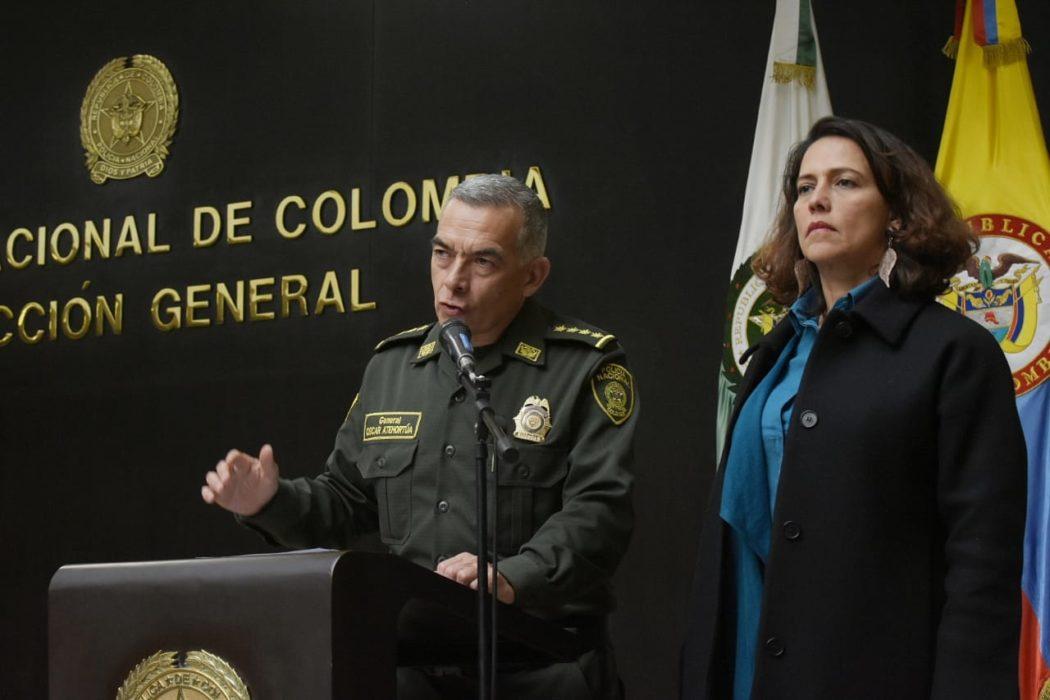 Nancy Patricia Gutiérrez y Óscar Atehortua.