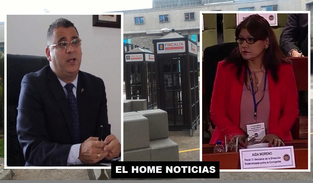 Aida Esperanza Moreno y César Augusto Ceballos