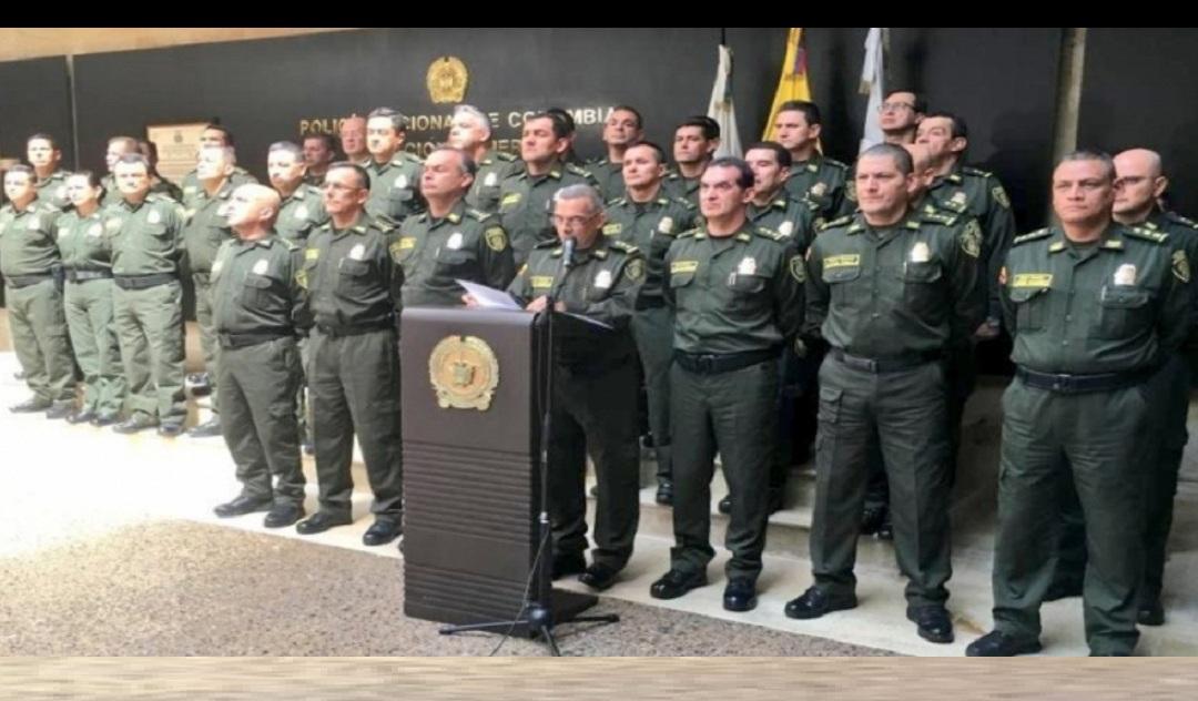 La cúpula de la Policía Nacional.