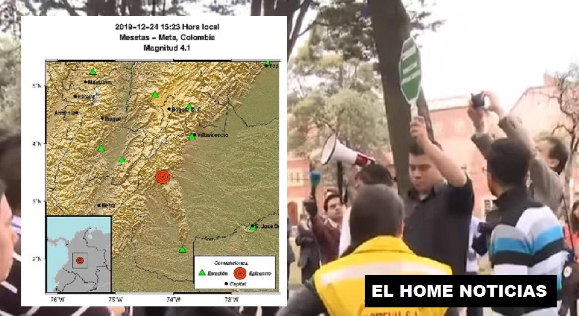 Sismo en Bogotá