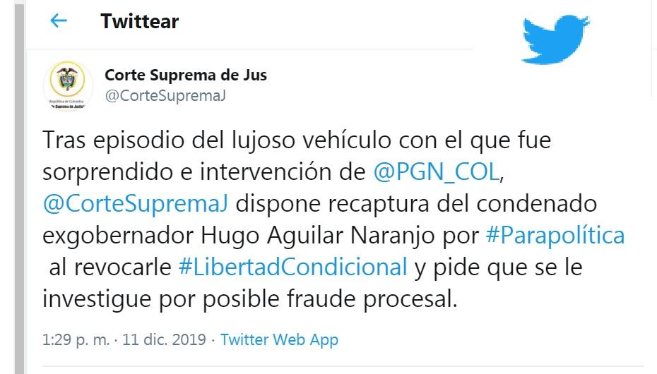 Hugo Aguilar Naranjo.