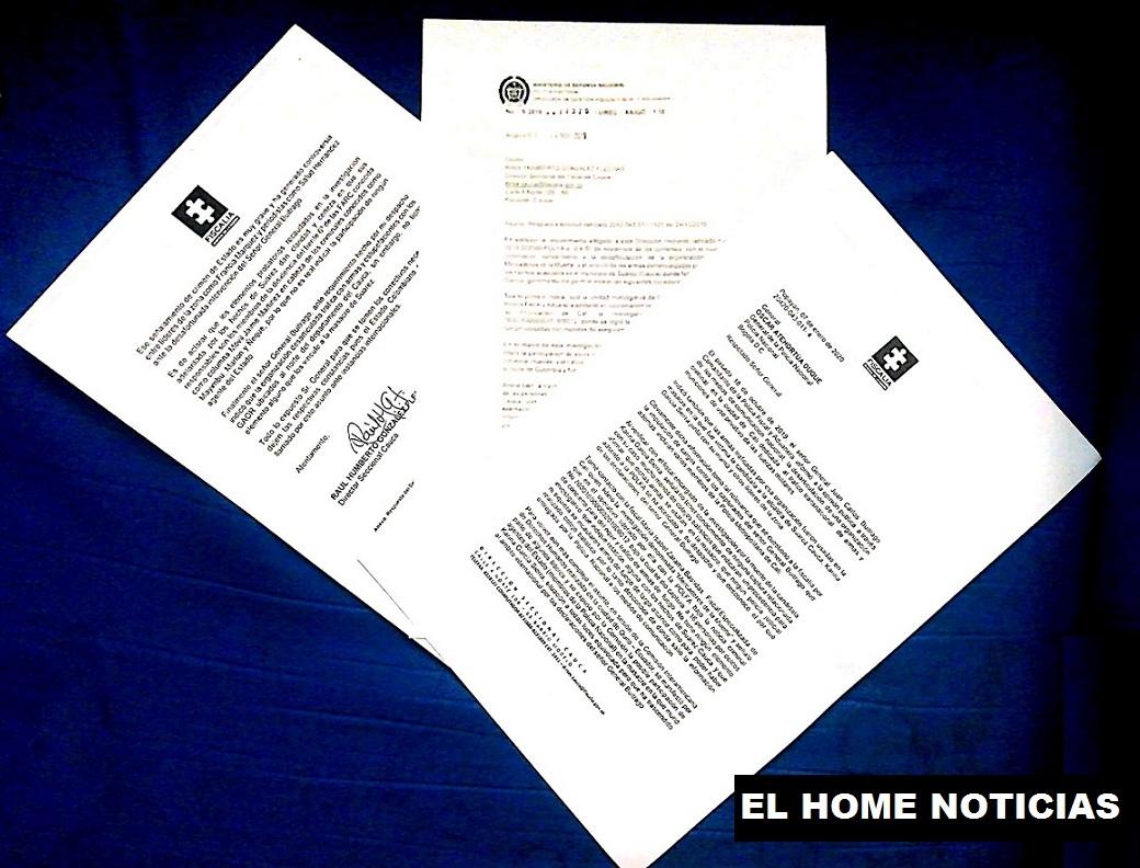 Carta de Juan Carlos Buitrago Arias.