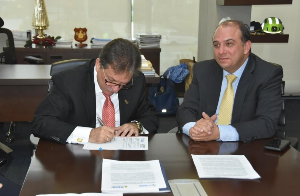 FND y UNGRD firman acuerdo para reducir el riesgo de desastres y los efectos del cambio climático en las regiones.