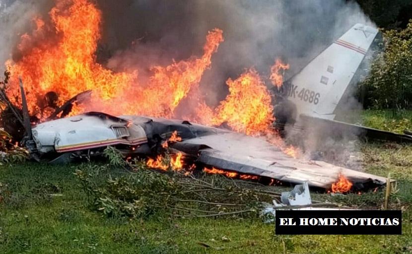 Aeronáutica Civil señaló que atendió de manera oportuna el fatídico accidente.