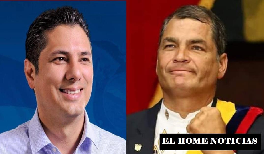 Fernando Balda y Rafael Correa.