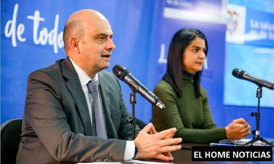 Ministro de Salud y Protección Social (e), Iván Darío González