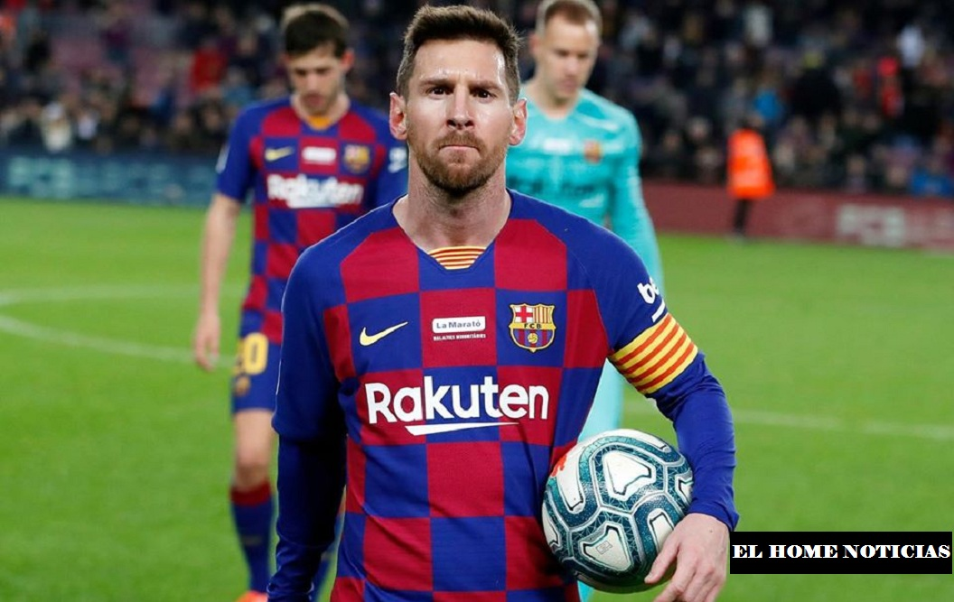 Lionel Messi, jugador del Futbol Club Barcelona.