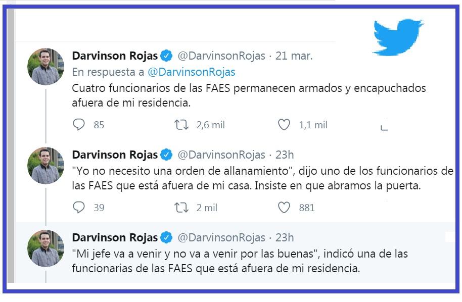 Mensajes de Davirson Rojas.