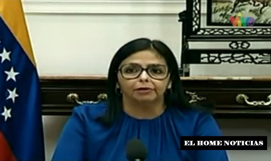 Vicepresidenta de Venezuela.