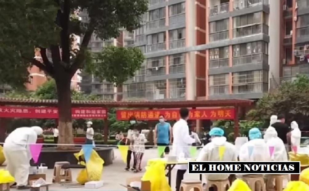 El coronavirus en China.