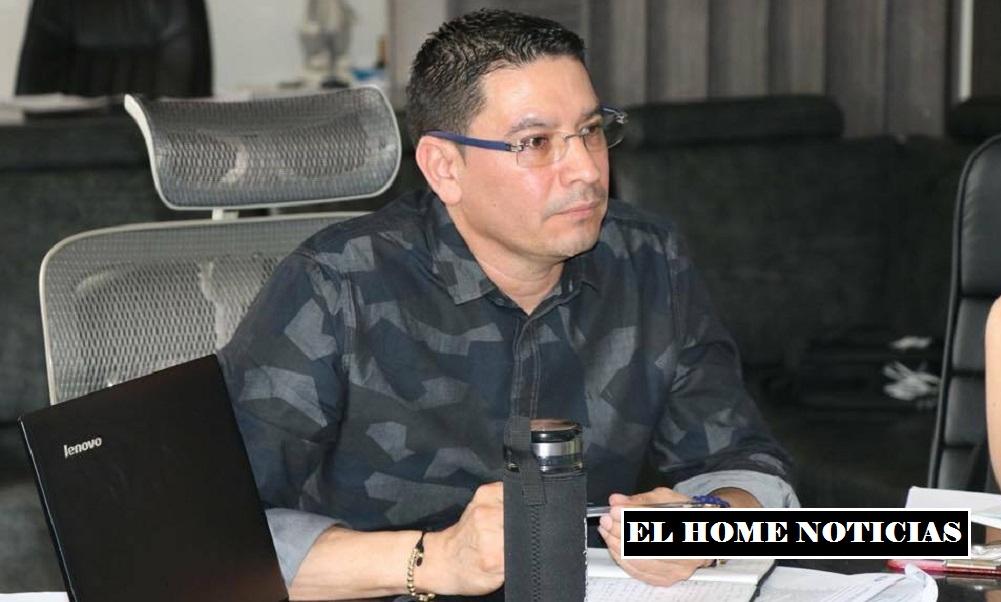 Emiro Quintero Cañizares de Ocaña, gerente del Hospital Emiro Quintero Cañizares