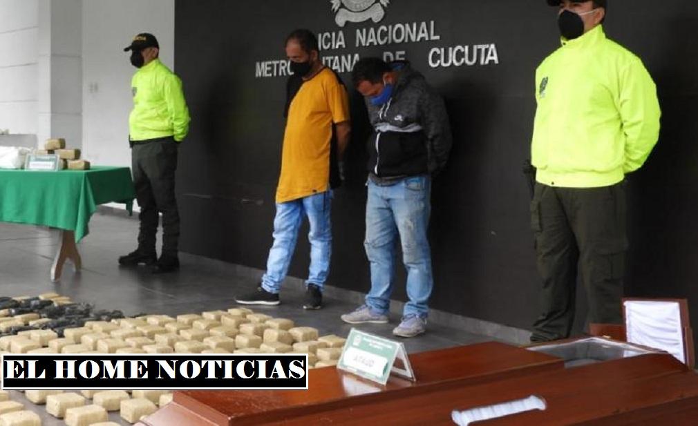 Los funerarios en Cúcuta.