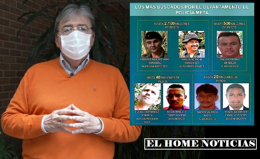 Disidencias de las FARC.