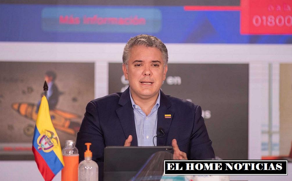 Presidente Iván Duque dice que rechaza el seguimiento a los periodistas -  EL HOME NOTICIAS