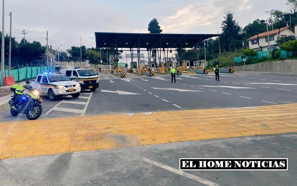 Transito Cundinamarca.
