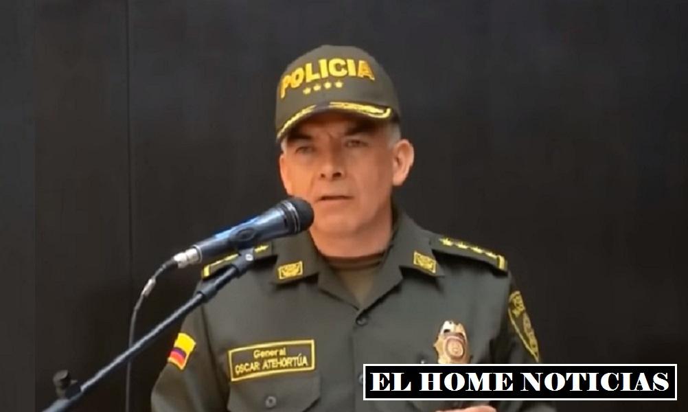 General Óscar Atehortúa.