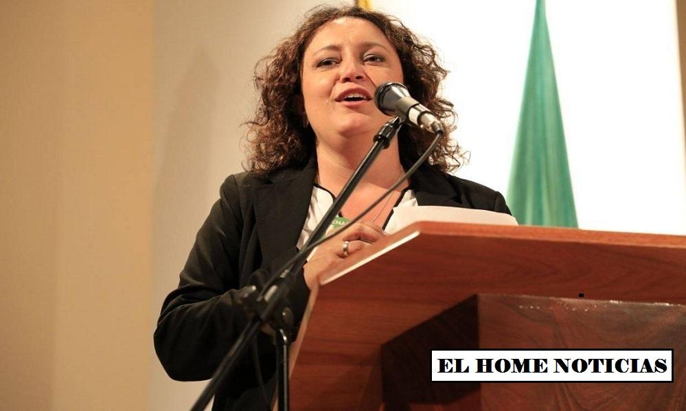 Angélica Lozano.