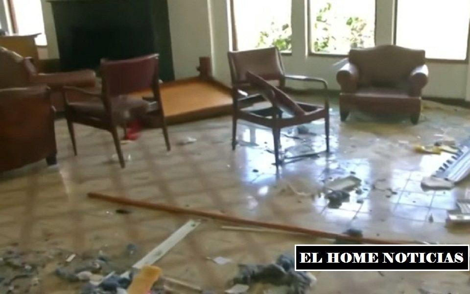 Vandalizan embajda de Venezuela en Colombia.
