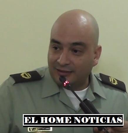 Teniente coronel Óscar Cortés Dueñas.